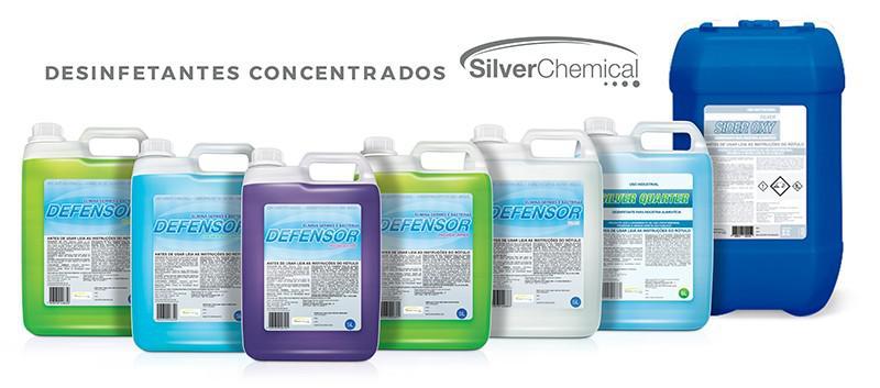 Fabricante de desinfetante